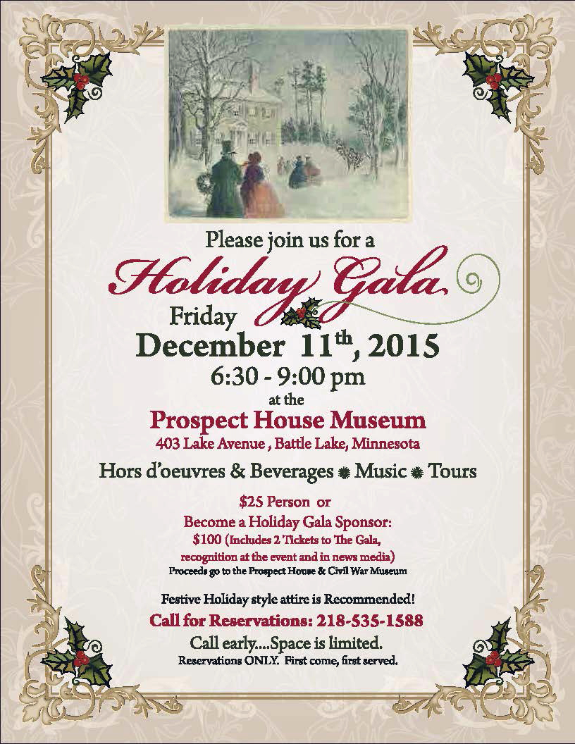 Holiday Gala Invitation