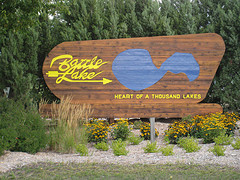 Battle Lake Sign Photo