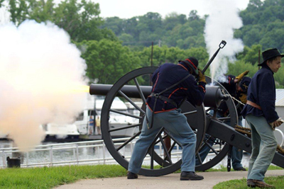 Cannon Firing Picture